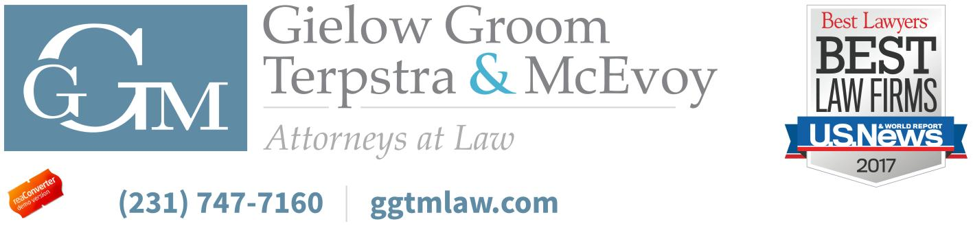 Gielow Groom Terpstra and McEvoy Attorneys at Law